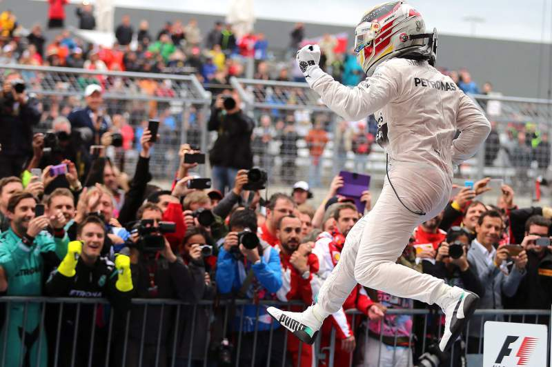 Lewis Hamilton, campeão de Fórmula 1