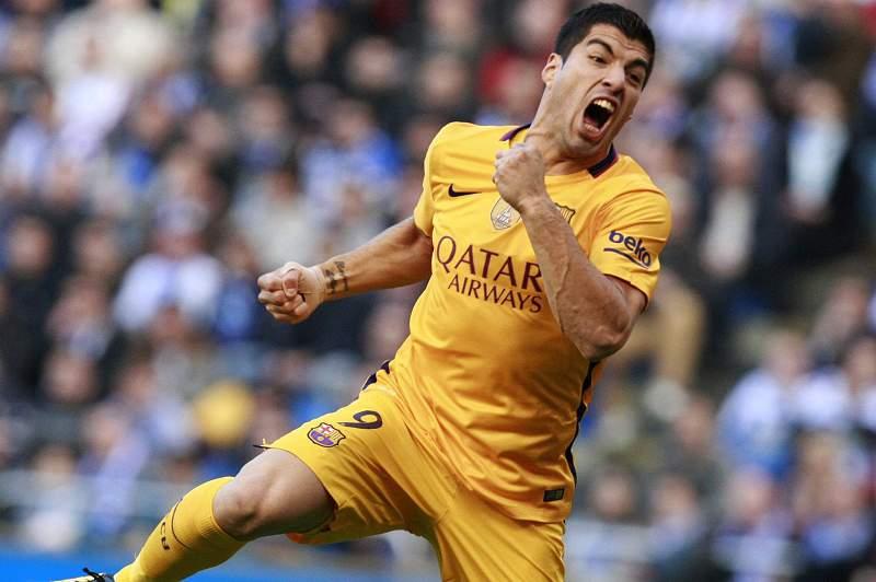 Luis Suarez marcou quatro golos em Riazor