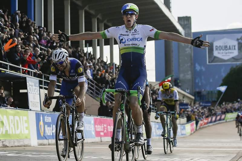 Matthew Hayman 'em choque' pela vitória na Clássica Paris-Roubaix