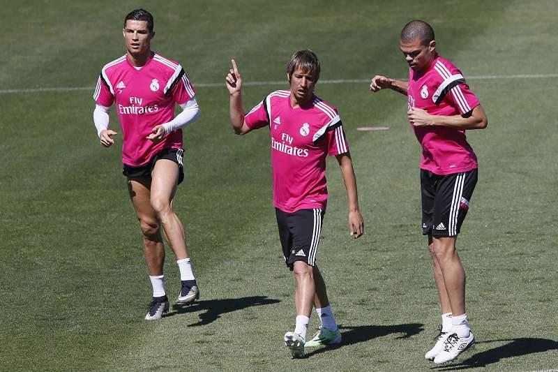 Ronaldo, Coentrão e Pepe
