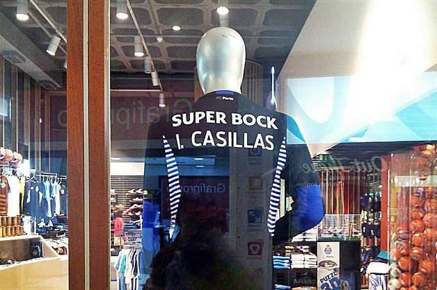 Camisola de Casillas à venda