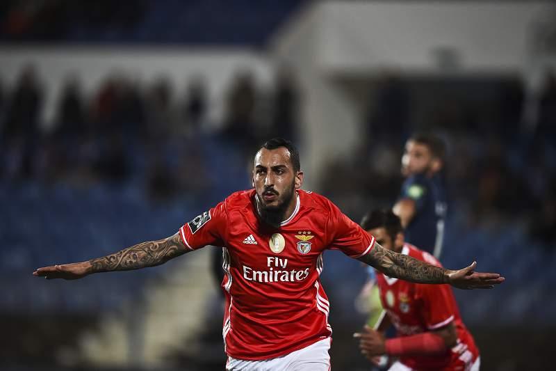 Belenenses-Benfica: Mitroglou festeja golo