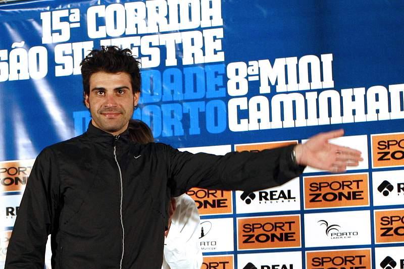 Óscar Pereiro volta a correr na São Silvestre do Porto