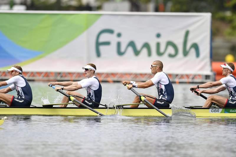 Grã-Bretanha ganha ouro no remo de quatro sem timoneiro