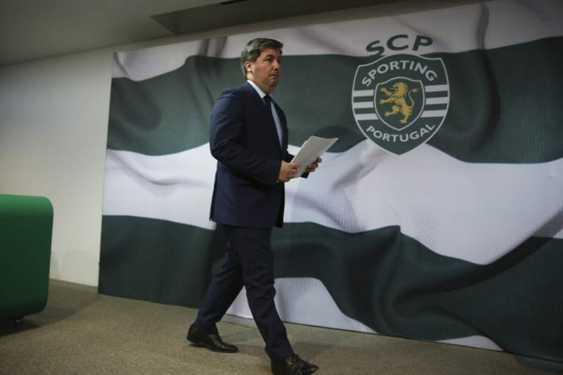 Bruno de Carvalho, presidente do Sporting
