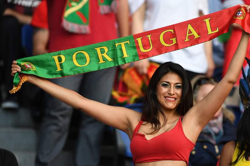 Adepta da seleção portuguesa