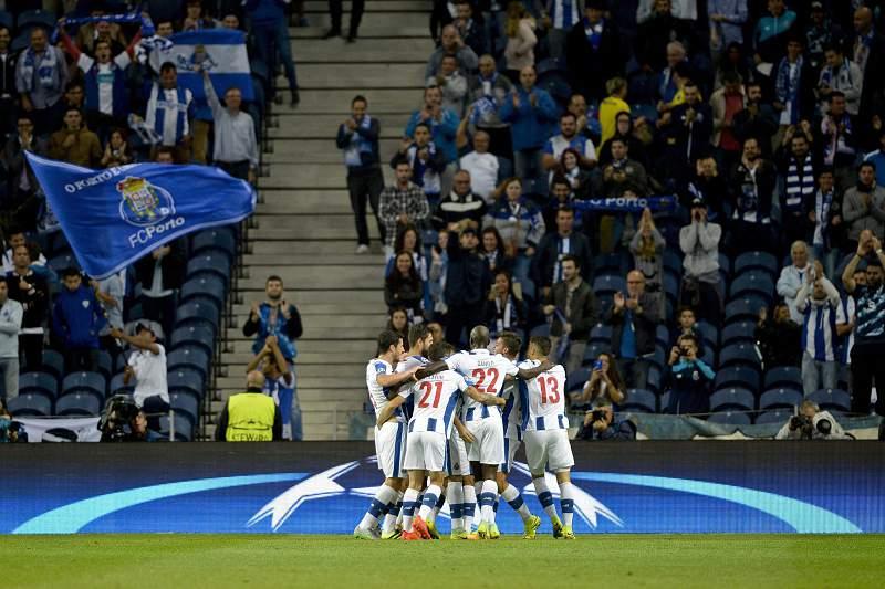 Otávio marcou o golo do FC Porto no primeiro tempo
