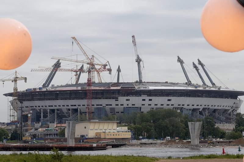 Zenit Arena in St. Petersburg
