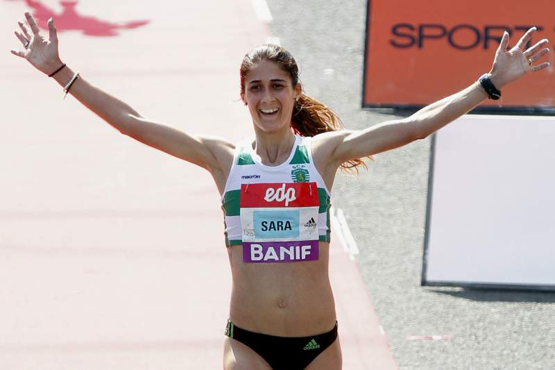 Sara Moreira segunda na Maratona de Praga