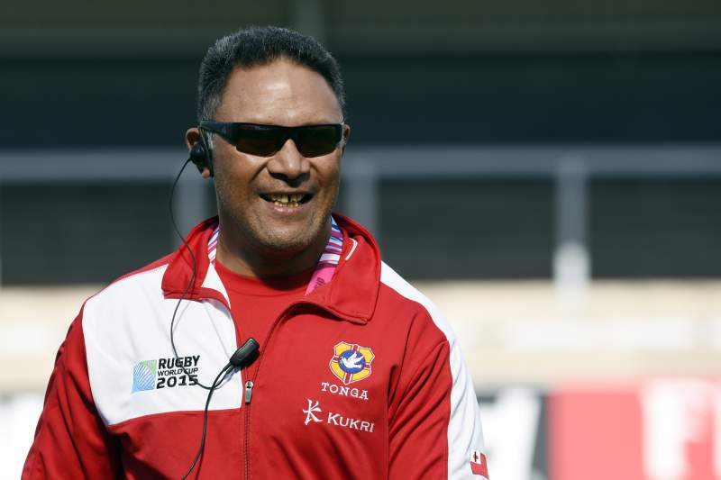 O treinador do Tonga Mana 'Otai