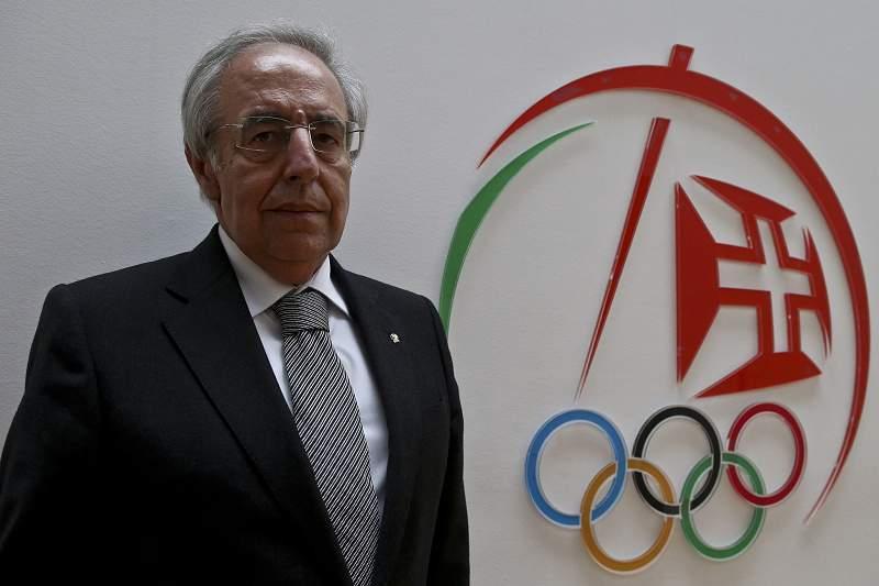 José Manuel Constantino, Presidente do Comité Olímpico de Portugal.