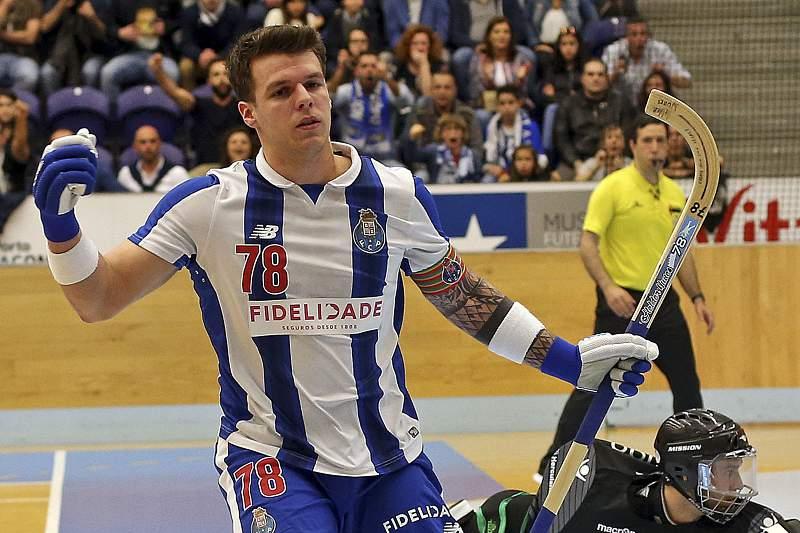 Hélder Nunes esteve em destaque na vitória do FC Porto sobre o Sporting