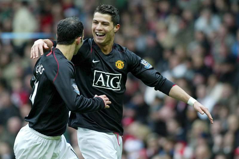 Ryan Giggs e Cristiano Ronaldo