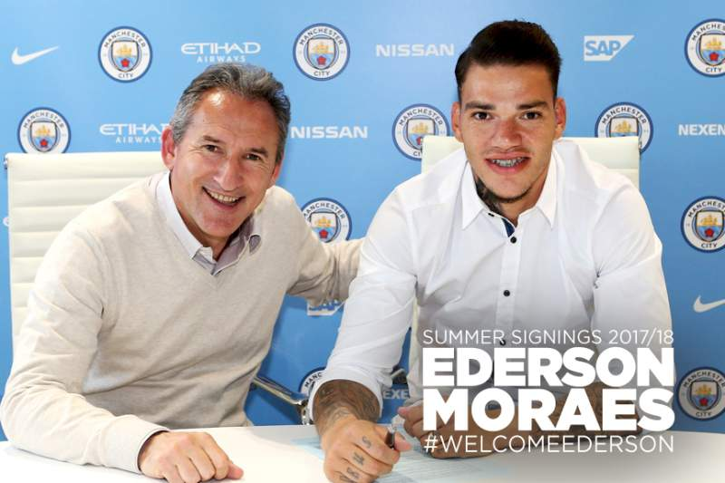 Ederson confirmado no Manchester City