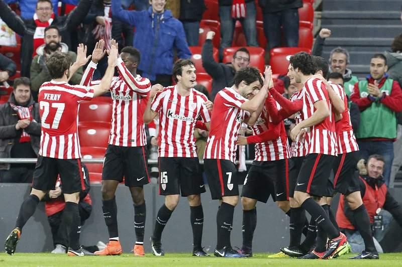 Bilbao festeja golo