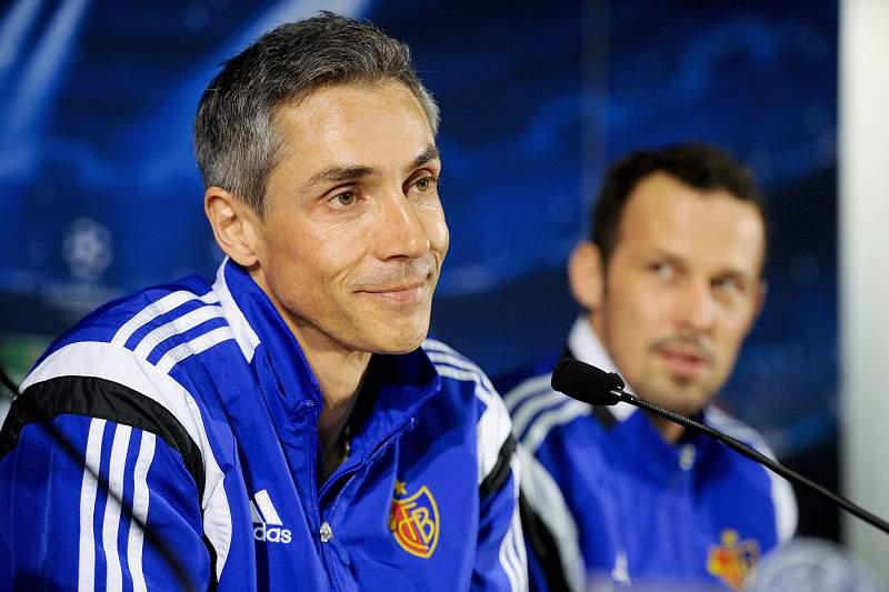 FC Basel press conference