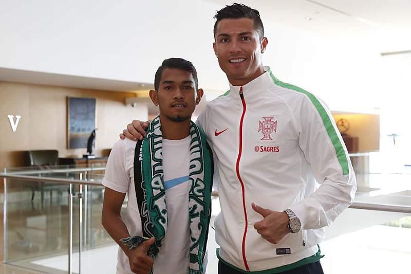 Martunis e Ronaldo juntos novamente