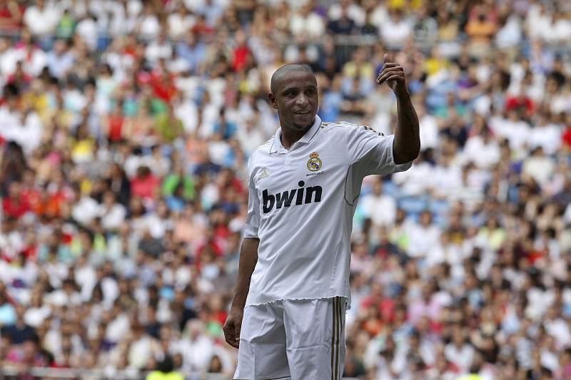 Roberto Carlos jogou vários anos no Real Madrid