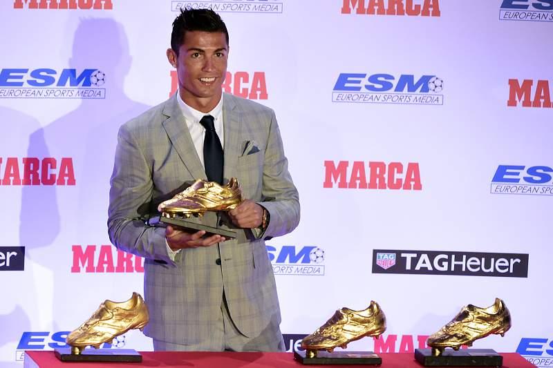 Cristiano Ronaldo com a quarta Bota de Ouro da sua carreira