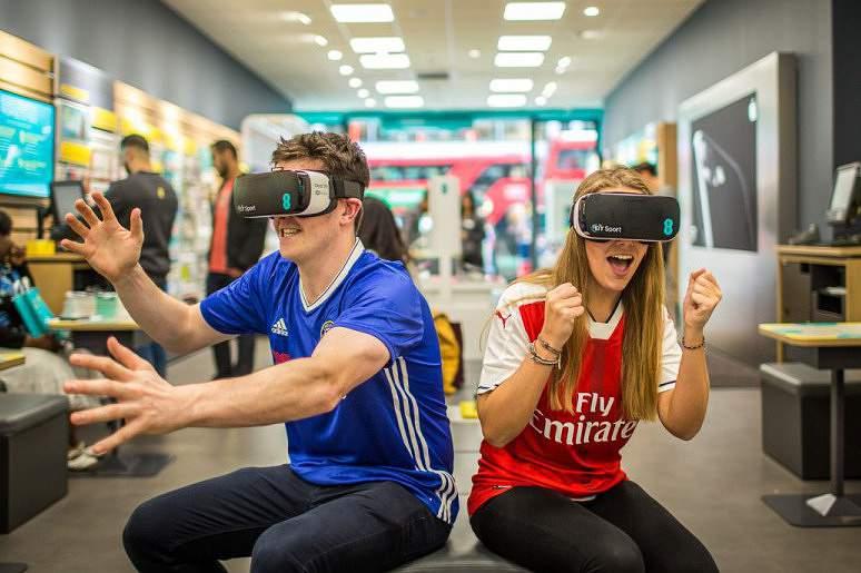 Arsenal-Chelsea vai ter acompanhamento de realidade virtual
