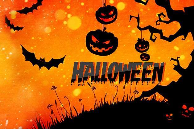 Halloween Frame Photo