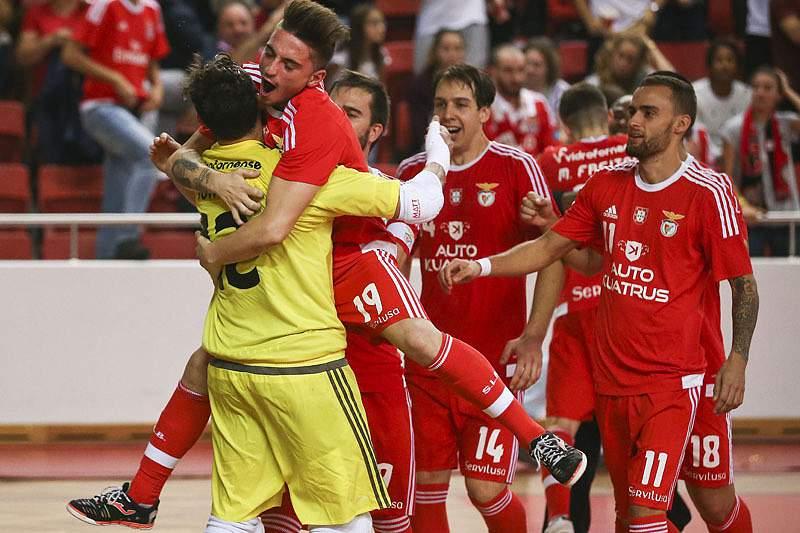 Equipa de futsal do Benfica