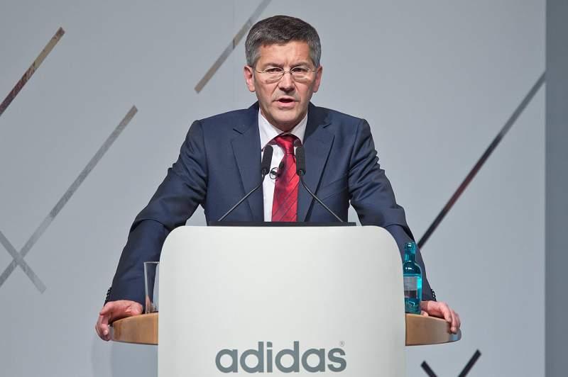 Adidas issues profit warning