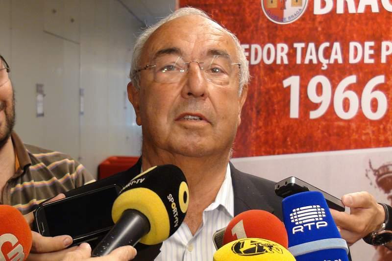Canário, antigo jogador do SC Braga