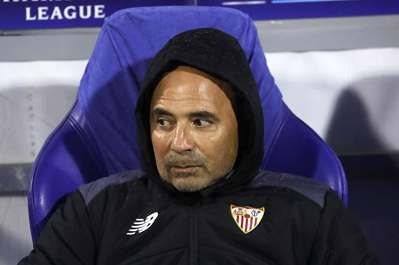 Jorge Sampaoli, treinador do Sevilha