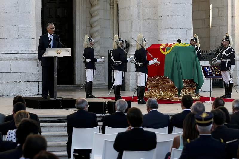 Cerimónia de Concessão de Honras de Panteão Nacional a Eusébio da Silva Ferreira