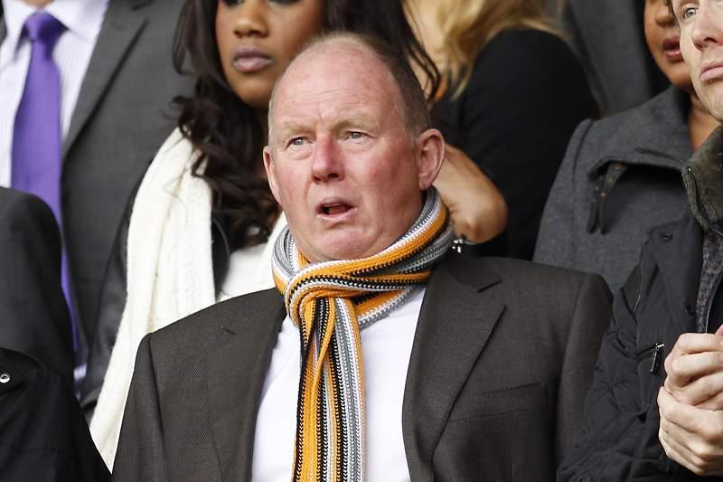 Steve Morgan, atual proprietário do Wolverhampton