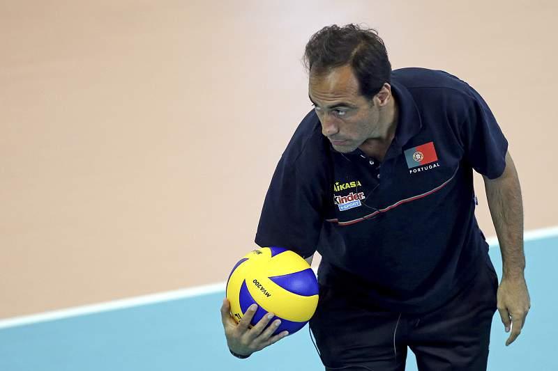 Hugo Silva, selecionador luso de voleibol