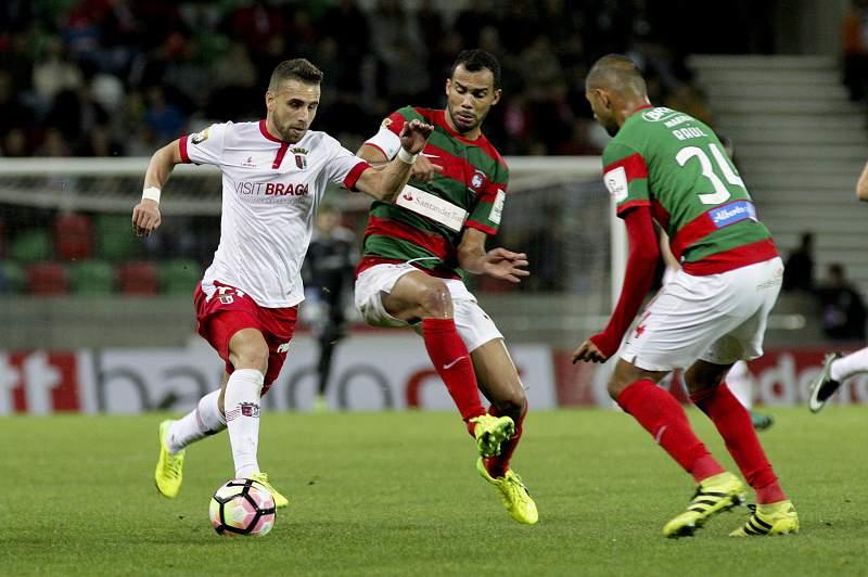 Marítimo - SC Braga: Paulinho e Fransérgio