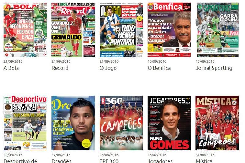 Revista de Imprensa de 21-09-2016