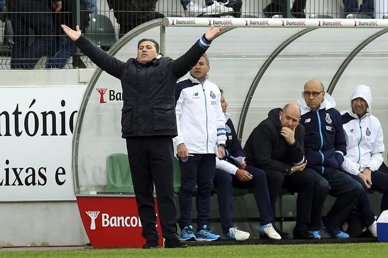José Peseiro no banco do FC Porto