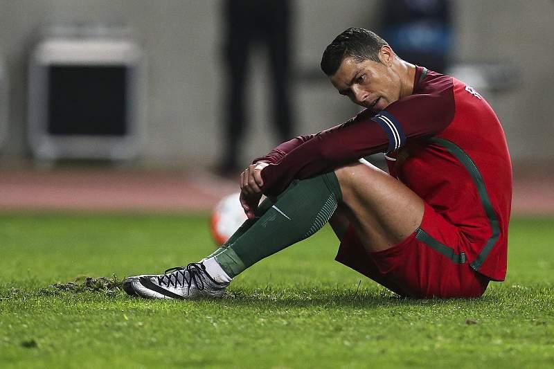 Ronaldo desolado