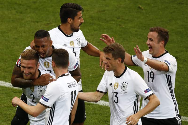 Alemanha é favorita a seguir em frente