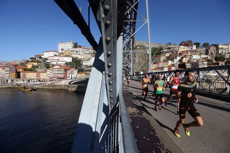 Participantes da 12ª Maratona do Porto