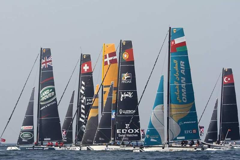 Catamarã português mantém oitavo lugar na Extreme Sailing Series