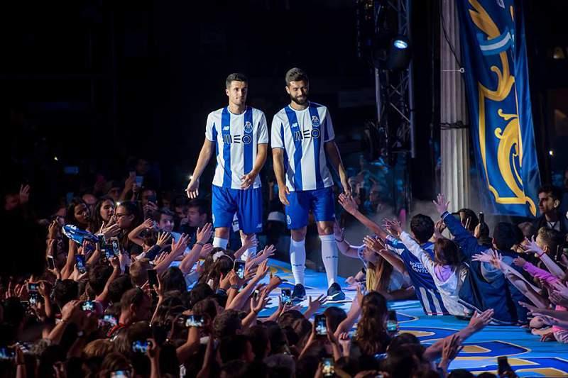 Desfile dos novos equipamentos do FC Porto na Ribeira