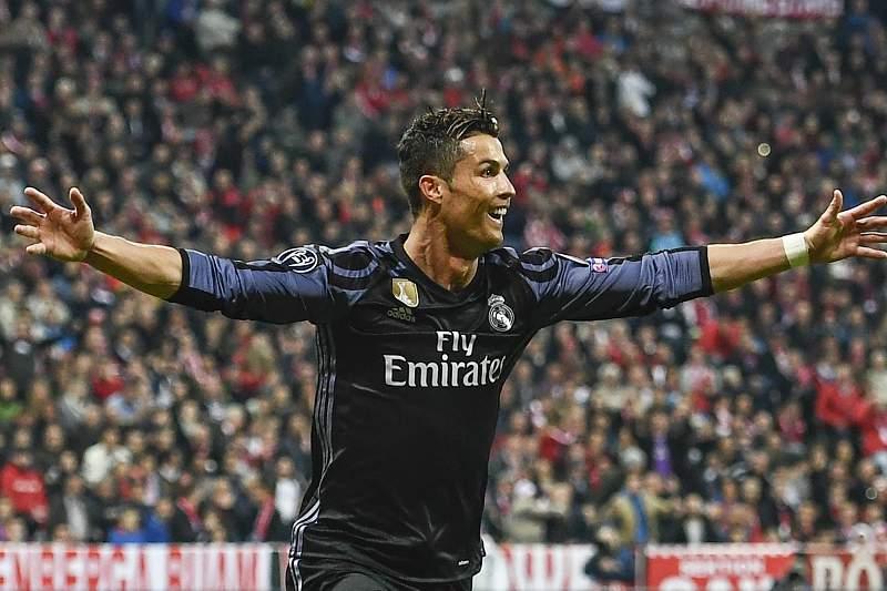 Cristiano Ronaldo marcou o seu 100º golo nas competições europeias frente ao Bayern Munique