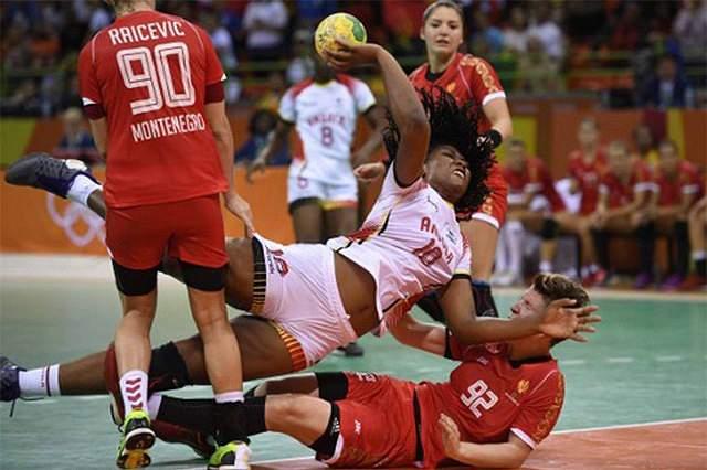 Angola perde sem ousadia frente ao Brasil em andebol feminino