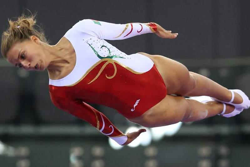 Ana Rente, atleta olímpica de trampolim