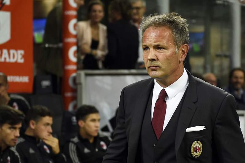 Sinisa Mihajlovic, treinador do AC Milan
