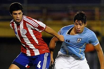 Blás Riveros ao serviço da seleção paraguaio