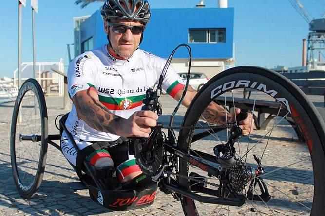 Luís Costa vence medalha de bronze em prova da taça do Mundo de paraciclismo