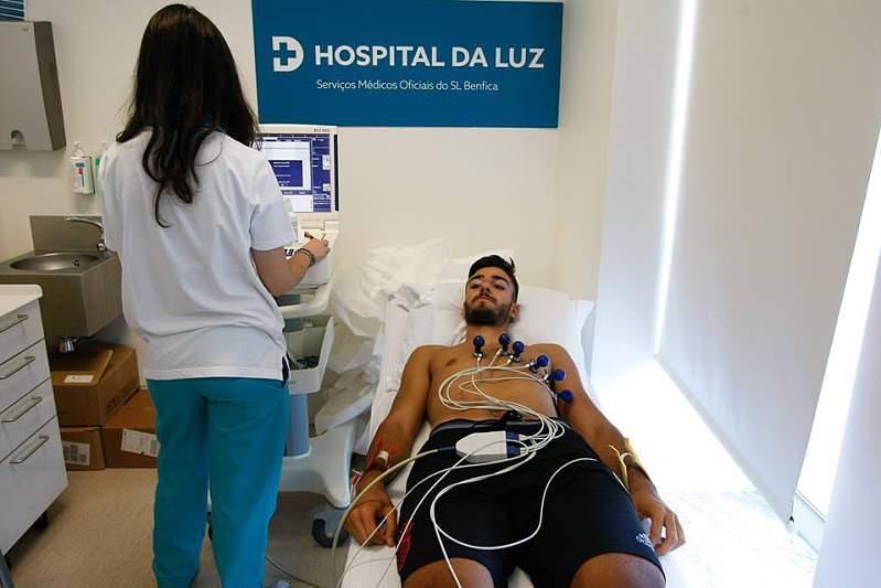 Testes médicos da equipa B do Benfica