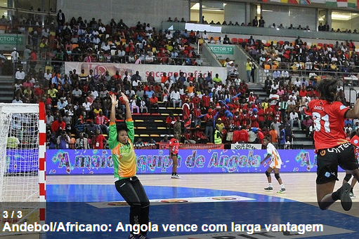 Andebol feminino: Angola - Costa do Marfim