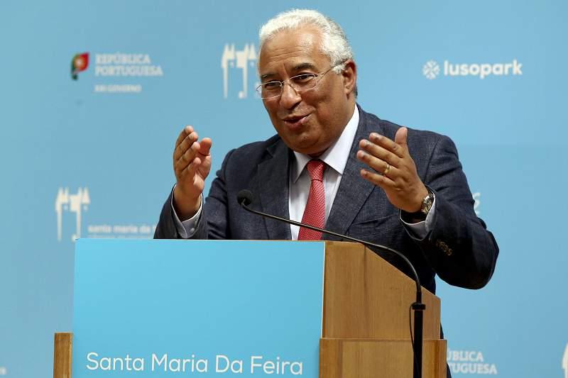 PM António Costa em Santa Maria da Feira