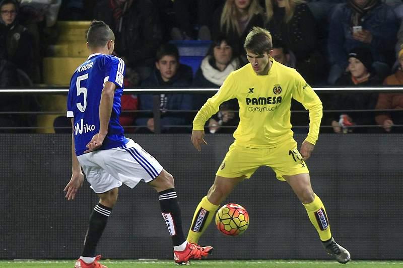 Dennis Suarez e Kadir no Villarreal-Bétis no